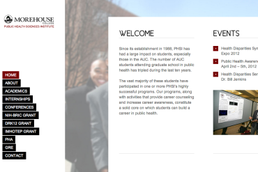 Morehouse PHSI Website