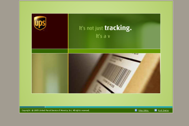 UPS Flash Website